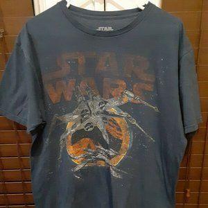 Star Wars X-Wing Starfighter T-Shirt Large